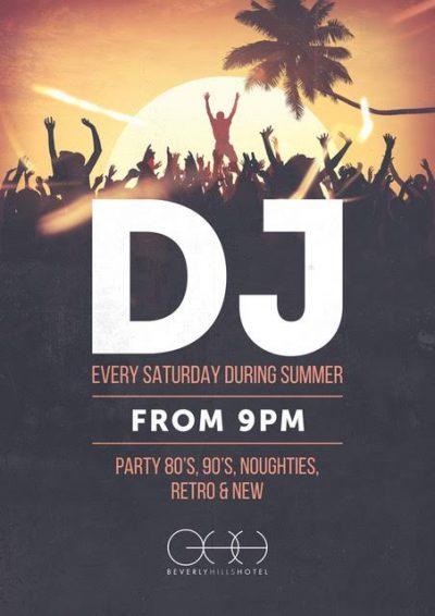 DJ every Saturday night